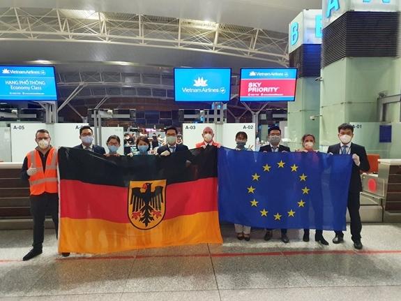 Vietnam Airlines đưa gần 600 công dân Đức và EU về nước