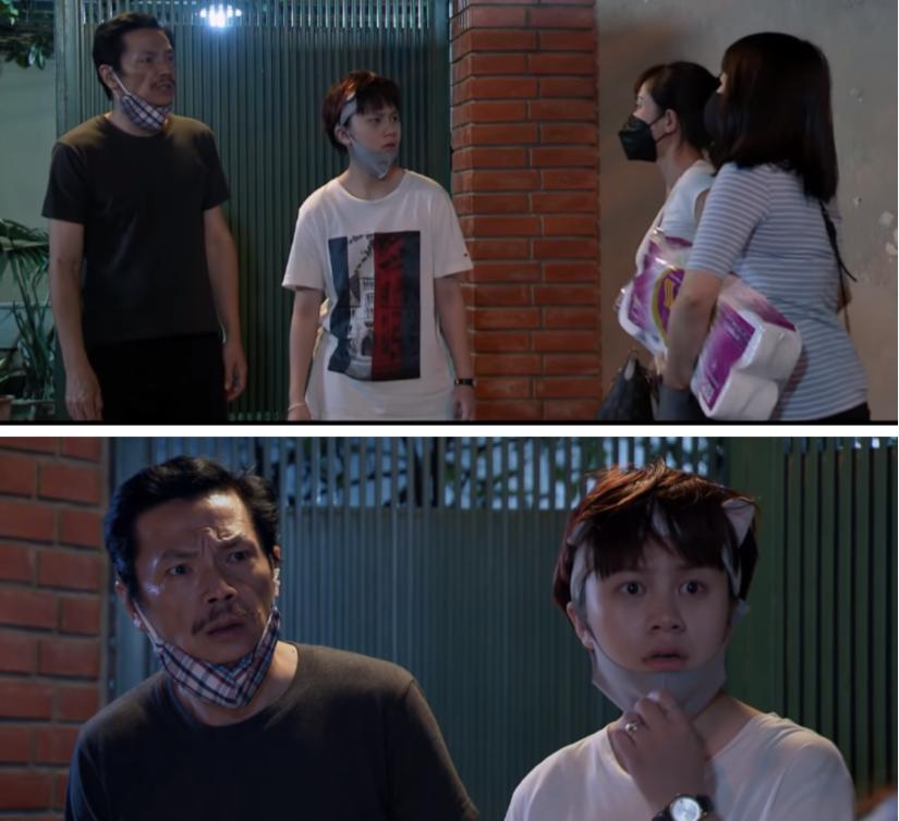 'Những ngày không quên' tập 2: Quốc có con 'rơi', Dương tích đồ bán chống Covid-19