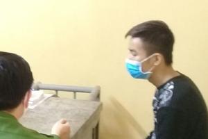 Trốn kiểm tra thân nhiệt, thanh niên tông xe vào Phó Trưởng Công an phường tại chốt kiểm dịch