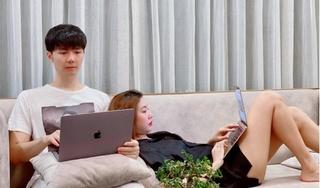Á hậu Thúy Vân khoe ảnh tình tứ bên chồng doanh nhân sắp cưới
