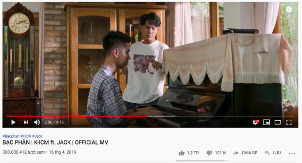 Vượt Sơn Tùng M-TP, Jack trở thành nam ca sĩ V-Pop đầu tiên có MV đạt 300 triệu view