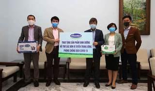 Vinamilk ủng hộ gần 15 tỷ đồng để tiếp sức cho các đơn vị tuyến đầu trên cả nước chống dịch