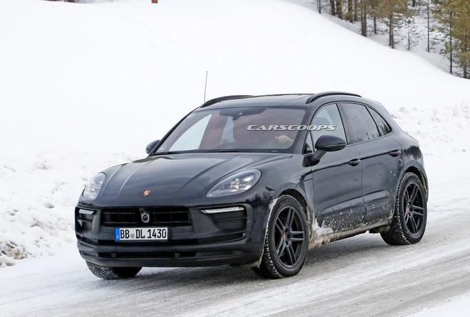 Porsche Macan 2022 lộ hình ảnh chạy thử nghiệm