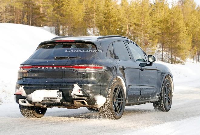 Porsche Macan 2022 lộ hình ảnh chạy thử nghiệm3