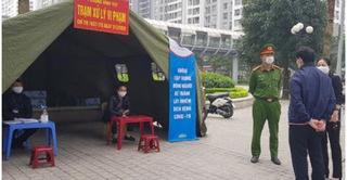 28 cư dân tại chung cư cao cấp Hà Nội bị phạt vì ra ngoài không rõ lý do