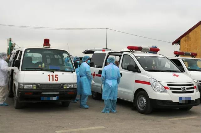 Người đàn ông Hưng Yên suy hô hấp, tử vong trên đường chuyển viện âm tính với SAR-CoV-2