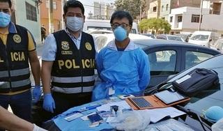 Một công dân Trung Quốc đánh cắp lô xét nghiệm Covid-19 bị bắt