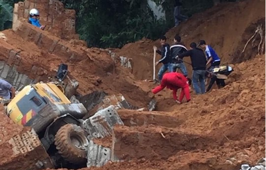 Danh tính thợ xây bị vùi lấp tử vong trong vụ sập tường ở Lạng Sơn