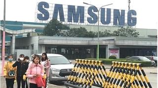 Phong tỏa 1 phân xưởng của Samsung, cách ly người tiếp xúc với BN 262