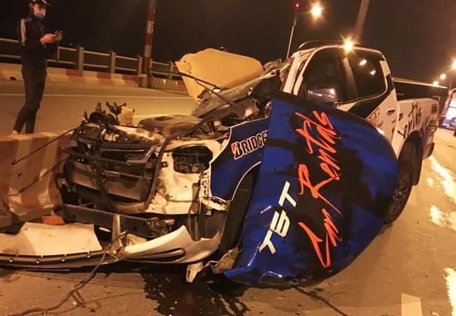 Xác định danh tính người tử vong trong vụ tai nạn ở cầu Vĩnh Tuy