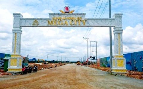 Dự án Khu dân cư Cầu Đò hiện có tên thương mại là Khu đô thị thương mại Mega City