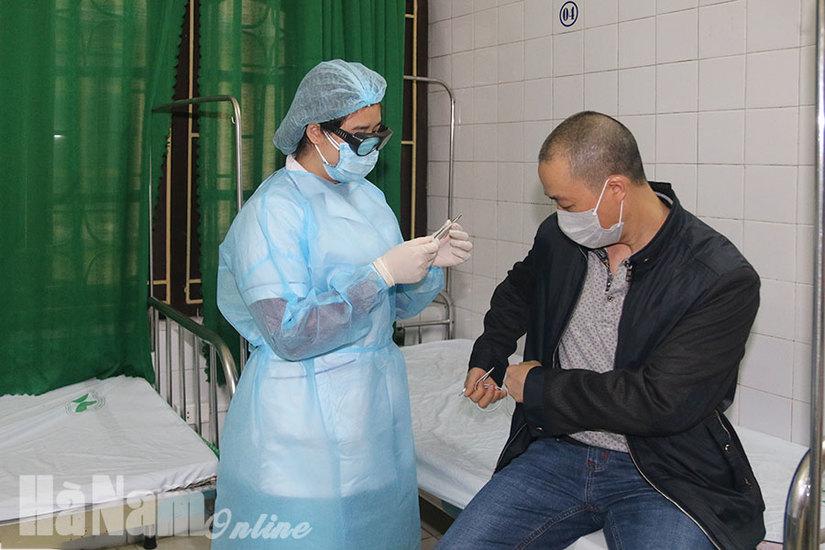 3 bệnh nhân nhiễm Covid-19 điều trị tại BVĐK Hà Nam đã khỏi bệnh
