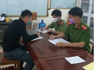 Ninh Bình: Bị phạt 10 triệu đồng vì tung tin sai sự thật về dịch bệnh Covid-19