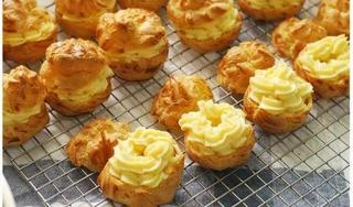 Công thức làm bánh su kem bất bại, thơm ngon và cực đơn giản tại nhà