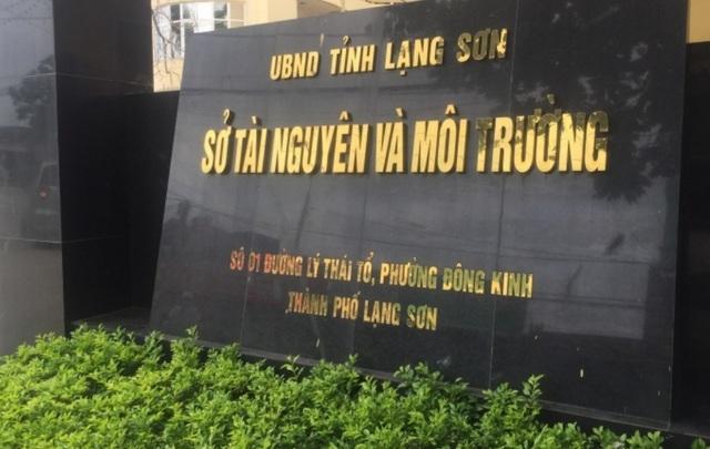 Bắt tạm giam Phó Giám đốc Sở TN&MT tỉnh Lạng Sơn