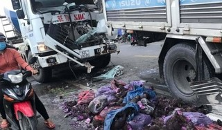 3 tài xế bị thương nặng nhập viện cấp cứu sau vụ tai nạn liên hoàn