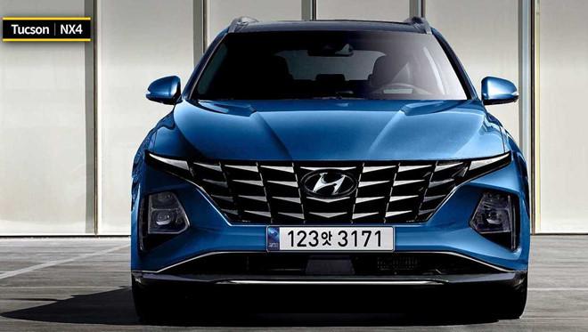 Lộ diện Hyundai Tucson 2021, gây bất ngờ từ ngoại hình đến trang bị2