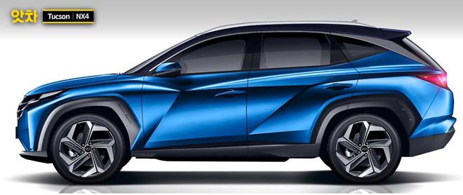Lộ diện Hyundai Tucson 2021, gây bất ngờ từ ngoại hình đến trang bị