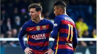 Vì Messi, Neymar sẽ không quay lại Barcelona?