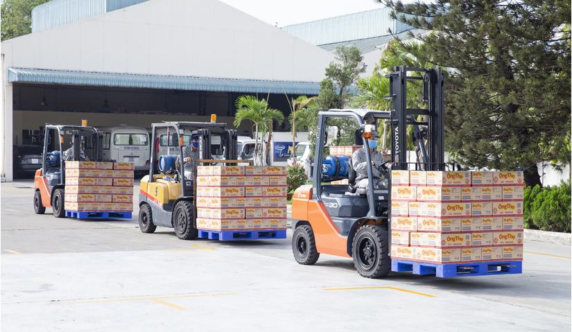 Vượt trở ngại Covid, Vinamilk xuất khẩu sữa qua Trung Quốc