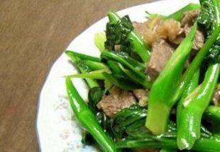 Cải làn xào thịt bò – Món ngon không thể bỏ lỡ
