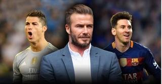 David Beckham: 'Ronaldo chưa đạt tới đẳng cấp của Messi'