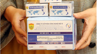 Bộ sản phẩm xét nghiệm Covid-19 của Việt Nam sản xuất đạt tiêu chuẩn châu Âu