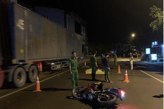 Tìm ra xe đầu kéo tông chết 2 người rồi bỏ chạy từ Bình Định vào TPHCM