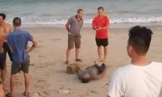 Phát hiện thi thể nam giới đang phân hủy, tay buộc tảng đá lớn