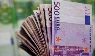 Tỷ giá euro hôm nay 22/4: Thị trường tự do giảm 50 đồng cả 2 chiều