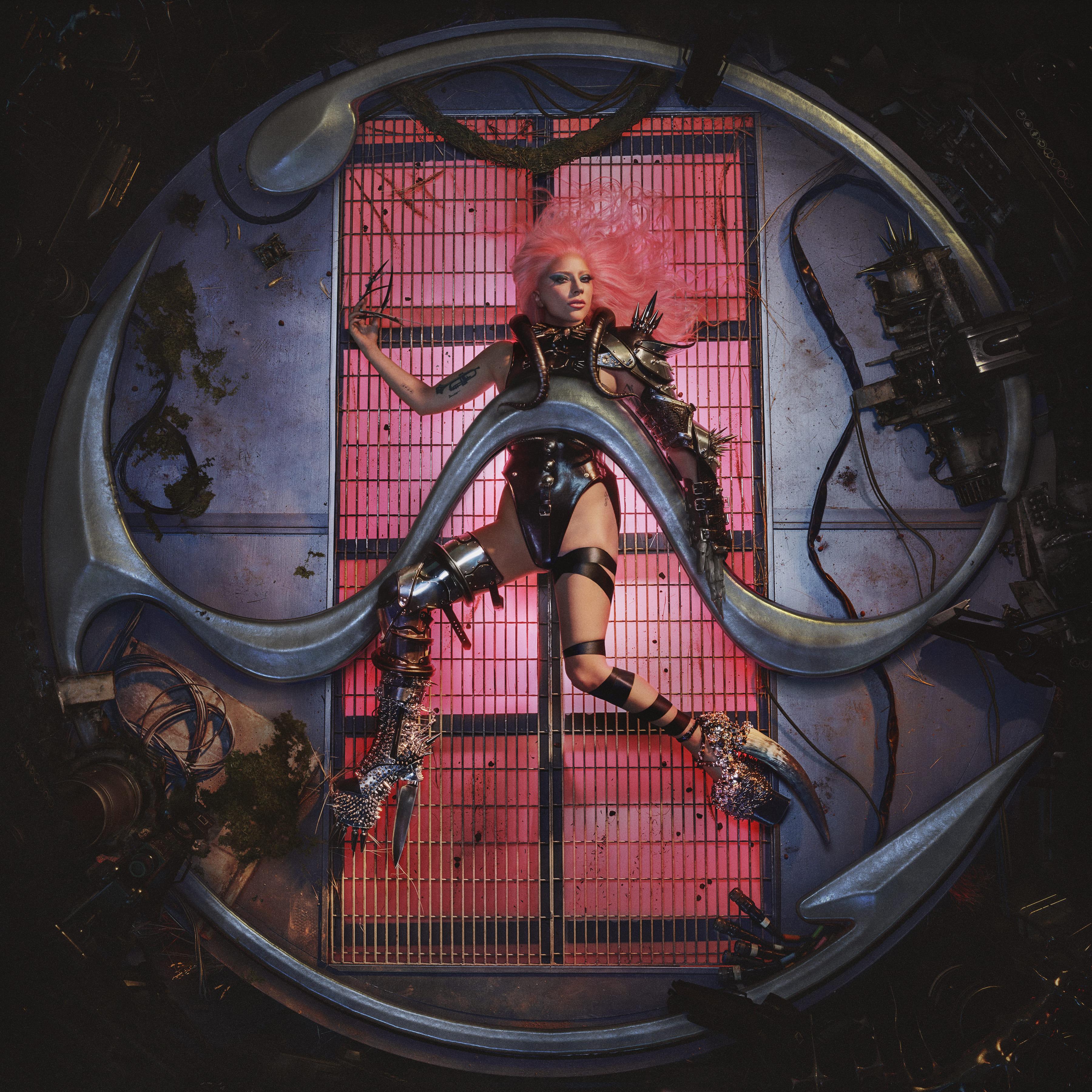 Bìa chính thức của album Chromatica.