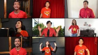 Loạt sao Việt xuất hiện trong MV 'Tự hào Việt Nam'