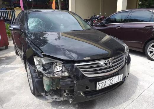 Tài xế ô tô gây tai nạn ở Đà Nẵng rồi chạy vào Quảng Ngãi giấu xe