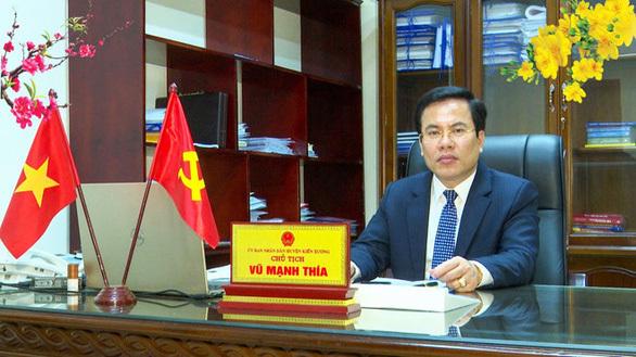 Chủ tịch huyện có vợ bị bắt trong vụ 'Đường Nhuệ' được điều động sang vị trí khác