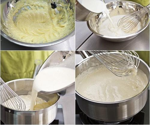Vào bếp cùng mẹ đảm làm bánh su kem đơn giản