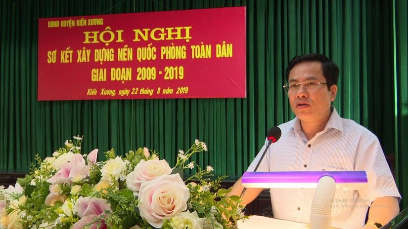Thái Bình lên tiếng về lý do điều chuyển Chủ tịch huyện có vợ liên quan vụ Dương Đường