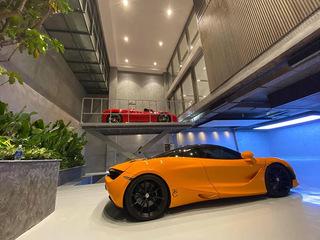 Choáng ngợp trước garage siêu xe của đại gia Cường Đôla