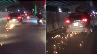 Đã xác định được tài xế ô tô kéo lê xe đạp điện hàng chục km sau khi gây tai nạn