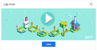 Googgle Doodle hôm nay 27/4: Trò chơi phổ biến về Hình tượng trưng