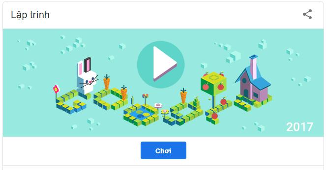 Google Doodle kỷ niệm 50 năm ra đời Kids Coding