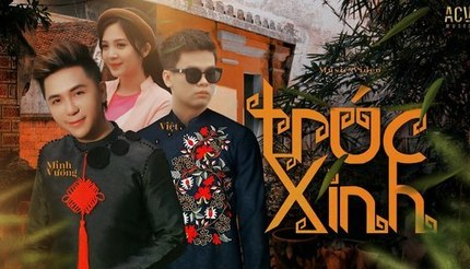 Lời bài hát 'Trúc xinh' - Minh Vương M4U ft Việt