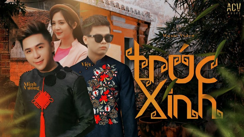Lời bài hát Trúc xinh của Minh Vương M4U ft Việt
