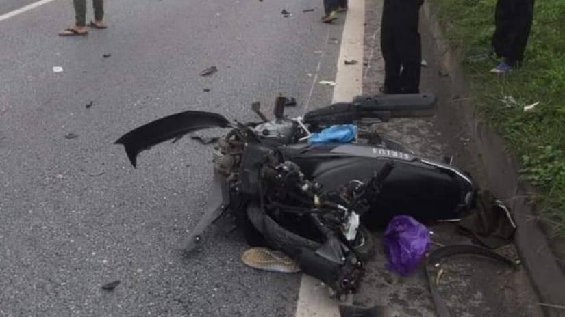 Bắc Ninh: Tai nạn giao thông giữa ô tô và mô tô, 1 người tử vong tại chỗ