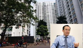 Tìm thấy mắt kính của tiến sĩ Bùi Quang Tín rơi lầu tử vong