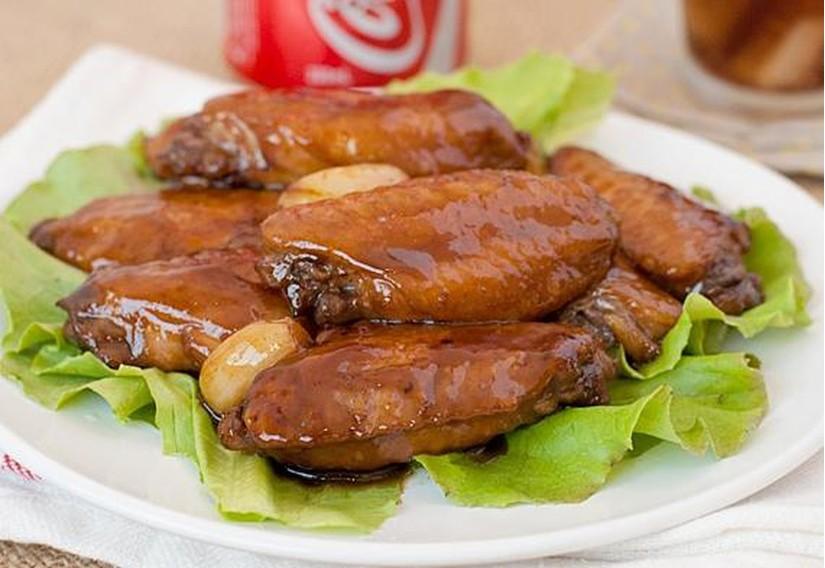 Cánh gà chiên coca - món ăn lạ mà ngon không tưởng