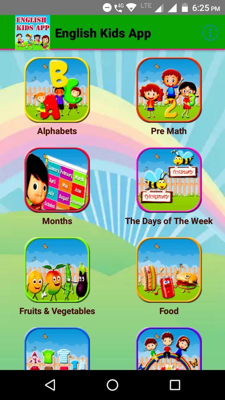 1. English for Kids