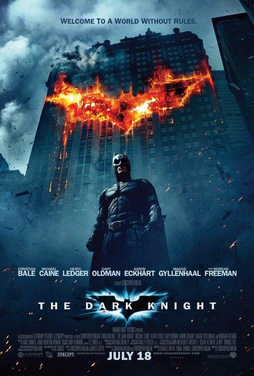 Christian Bale, Heath Ledger, Aaron Eckhart