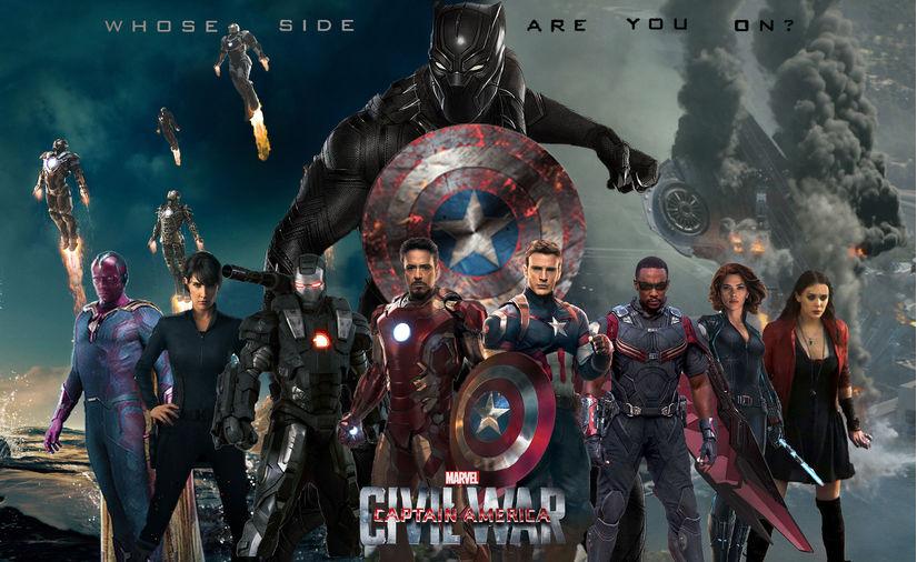 6. Captain America: Civil War (2016)