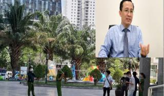 Cảnh sát 'đóng giả' tiến sĩ Bùi Quang Tín thực nghiệm hiện trường