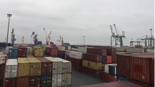 Lô ô tô bị chủ nhân 'bỏ quên' ở cảng Hải Phòng